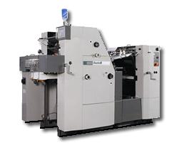 当店の主力オフセット印刷機、ハマダ印刷機械Duettoです!